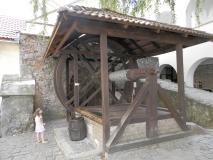 мукачевский замок паланок колодец