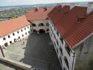 мукачевский замок паланок двор 1 сверху