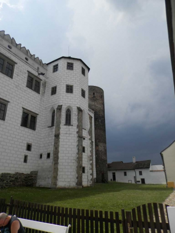 towers Jindrichuv Hradec zamek