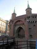 krakow barbakan 2