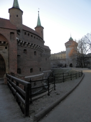 krakow barbakan 1