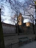 krakow wall outside day