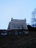 Peskova skala wall from road