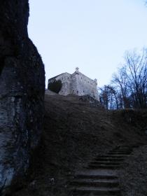Peskova skala stairs
